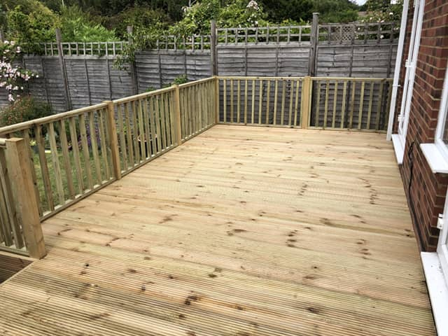 Decking or Patio?